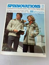 **VINTAGE** Spinnovations 5, by Spinnerin, SWEATERBOOK FOR SWEATERWEATHER