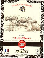 Etiquette de vin - LA GLOIRE - Vin de France  (175)