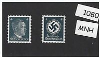 MNH WWII emblem & Adolph Hitler stamp set 1941 & 1942 PF04 Third Reich Germany