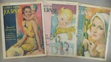 Ladies' Home Journal - LOT of 3 Covers from 1931 - COVER ONLY