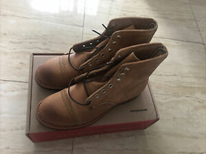 Red wing 8083 Iron Ranger Hawthorne Size 8 New With Box