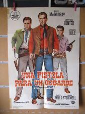 A5644 UNA PISTOLA PARA UN COBARDE FRED MACMURRAY JEFFREY HUNTER