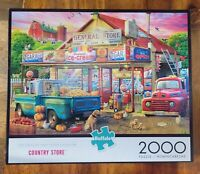 """Country Store 2000 pc. Jigsaw Puzzle 38.5""""x 26.5"""" by Buffalo"""