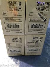 New Set of 4 Minolta Toner Cartridges Color PageWorks Pro 0940-401 501 601 701