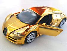 bugatti veyron electroplating 1:32 Diecast Car Model  toys Sound-Light new gifts