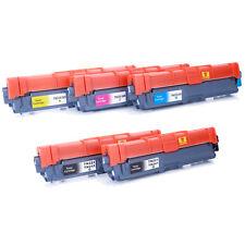 5 Pk TN225 TN221 TN-225 Toner For Brother HL-3140CW HL-3150CDN HL-3170CDW