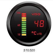 VDO Cockpit Digital Pyrometer PYRO EGT GAUGE 4WD AUTOMOTIVE TRUCK 52mm
