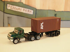 BOLEY INTERNATIONAL 7600 TRACTOR WITH ATHEARN 20ft CONTAINER AND CHASSIS  #8