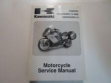 2008 2009 Kawasaki 1400GTR Concours 14 ABS Concours Motorcycle Service Manual NE