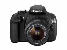 Canon EOS 1200D 12.0MP Digital SLR Camera - Black (Kit w/ EF-S 18-55mm f/3.5-5.…