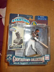 2000 STARTING LINEUP 2 WILLIE McCOVEY COOPERSTOWN COLLECTION 5 in,