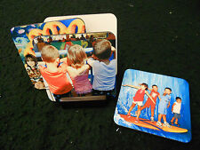 PERSONALIZED PHOTO COASTERS SET OF FOUR