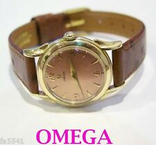 Solid 14k OMEGA Winding Ladies Watch 1960s in EXLNT Condition* SERVICED