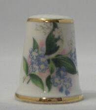 Blossoms of Spring Royal Grafton Porcelain Thimble TCC Oct. 1984