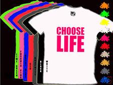 Neón A ELEGIR LIFE Infantil 80s Disfraz Camiseta 1-14 años