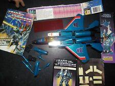 VTG 1983 TAKARA JAPAN Gen 1 G1 Transformers Thundercracker jet Decepticon hasbro