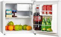 Mini Fridge Small Refrigerator Freezer 1.6 CU FT Single Door Compact Home Office