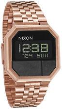 Reloj Hombre Nixon Re-Run A158897 de Acero inoxidable ba?ado en oro Rosa
