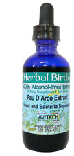 New listing Avitech Bird Herbal Pau D'Arco Extract - Bacteria - Yeast Suppressor 2oz