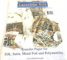 Lazertran Silk 10 Sheets Transfer Paper New