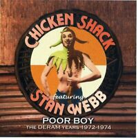 Chicken Shack and Stan Webb - Poor Boy - The Deram Years, 1972-1974 [CD]