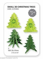 Jem small 3D Chistmas Tree Christmas Cake Sugarcraft Cutter NEXT DAY DESPATCH