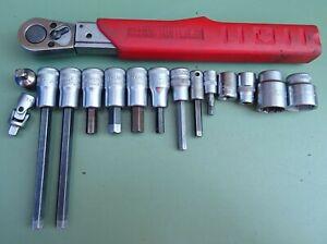 """STAHLWILLE Drehmomentschlüssel 3/8"""" 4-40 Nm MANOSKOP Werkzeug Knarre Stecknüsse"""