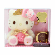 Hello Kitty Sanrio plush doll & GODIVA 2020 Chocolate