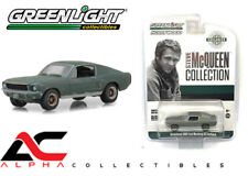 "GREENLIGHT 44722 1:64 1968 FORD MUSTANG GT UNRESTORED ""BULLITT"" STEVE MCQUEEN"