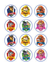 Paw Patrol edible party cupcake toppers cupcake image sheet