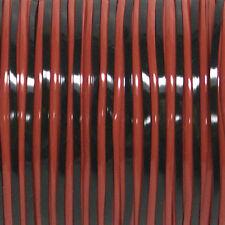 100 mètres (91M) spool Duo Noir Rouge rexlace plastique laçage crafts cyberlox