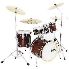 "Taye Drum Kit Studio Maple Stage 22"" Inch Bass Red 5 Piece Set +Hardware"