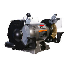 Jet 577128 Shop Bench Grinder Jbg 8w With Grinding Wheel And Wire Wheel System