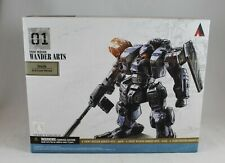 "Front Mission1st ZENITH ARID CAMO 4.5"" Wander Arts Figure Square Enix New Sealed"