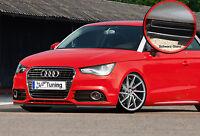 Spoilerschwert Frontspoiler Lippe aus ABS für Audi A1 mit ABE schwarz glänzend