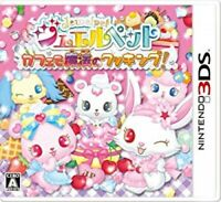3DS Jewel Pet Magic Cooking in a cafe Cute Anime Family&Kids Popular Japan