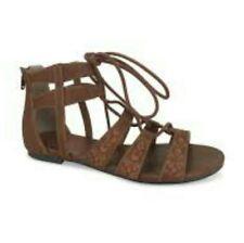 069fda6e0582 Jelly Pop Cognac Comfort Fit Gladiator Sandals Shoes