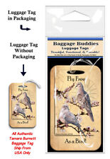 Mourning dove, Baggage Buddies Luggage Tag