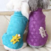 Winter Cat Dog Jacket Vest Cute Small Pet Coat Warm Puppy Yorkie Clothes XS-XL