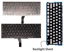 "New UK Backlightkeyboard for Apple Macbook Air 11.6"" A1370 2010 MC505LL/A"