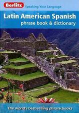 Berlitz Latin American Spanish Phrase Book & Dictionary (Berlitz Phrase Book)
