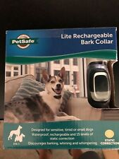 Rechargeable Lite Dog Bark Control Collar Stop Barking Whining Wimper PetSafe