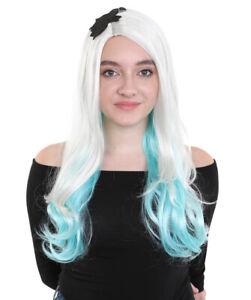 Long Gaga Wig | Blue & Blonde Color Celebrity Wig HW-007