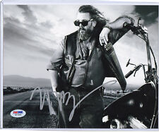 MARK BOONE  Autographed 8x10 Sons of Anarchy PSA