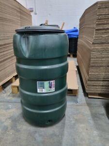 **STOCK CLEARANCE** B-STOCK - 150L Standard Barrel Water Butt + Stand & Diverter