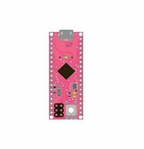 What's Next? Pink WN00005 ATmega32u4 Microcontroller Compatible w/ Arduino Micro