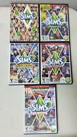 The Sims 3 Base Game + Expansion Bundle Lot of 4 Retail Discs and Cases PC/MAC