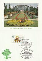 GERMANY 2 SEPT 1979 300 YEARS BERLIN BOTANIC GARDENS FIRST DAY CARD SHS