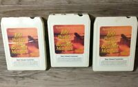 100 World's Most Beautiful Melodies Readers Digest Eight 8 Track Tape Set of 3