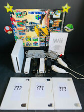 NINTENDO Wii || STARTERSET FÜR 1 - 4 SPIELER || INKL. 3 ÜBERRASCHUNGSSPIELEN ||